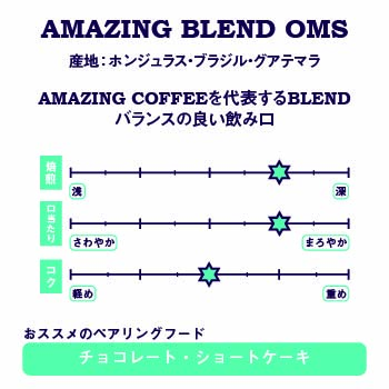 AMAZING BLEND OMS 詳細画像