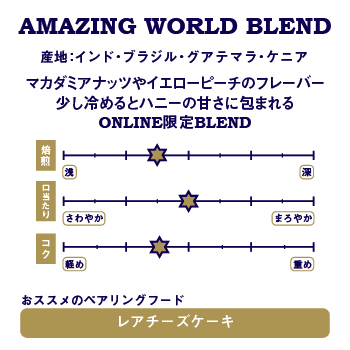 AMAZING WORLD BLEND 詳細画像